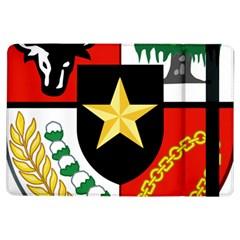Shield Of National Emblem Of Indonesia Ipad Air Flip by abbeyz71