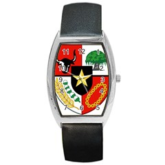 Shield Of National Emblem Of Indonesia  Barrel Style Metal Watch by abbeyz71