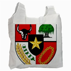 Shield Of National Emblem Of Indonesia  Recycle Bag (one Side) by abbeyz71