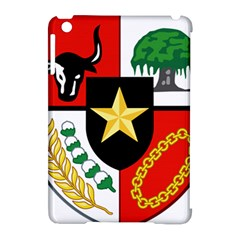 Shield Of National Emblem Of Indonesia  Apple Ipad Mini Hardshell Case (compatible With Smart Cover) by abbeyz71