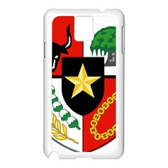 Shield Of National Emblem Of Indonesia  Samsung Galaxy Note 3 N9005 Case (white) by abbeyz71