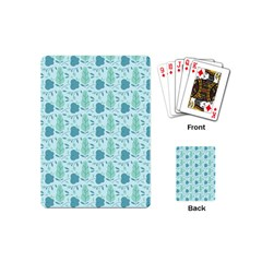 Seamless Floral Background  Playing Cards (mini)  by TastefulDesigns