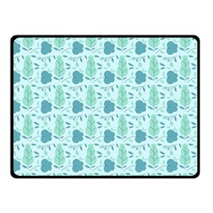 Seamless Floral Background  Double Sided Fleece Blanket (small)  by TastefulDesigns