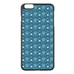 Seamless Floral Background  Apple Iphone 6 Plus/6s Plus Black Enamel Case by TastefulDesigns