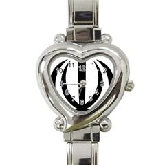 Emblem Of Iran Heart Italian Charm Watch by abbeyz71