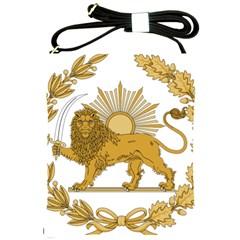 Lion & Sun Emblem Of Persia (iran) Shoulder Sling Bags by abbeyz71