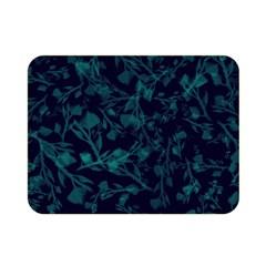 Leaf Pattern Double Sided Flano Blanket (mini)  by berwies