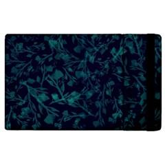 Leaf Pattern Apple Ipad 2 Flip Case by berwies