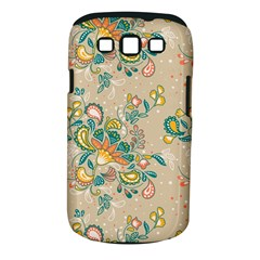 Hand Drawn Batik Floral Pattern Samsung Galaxy S Iii Classic Hardshell Case (pc+silicone) by TastefulDesigns