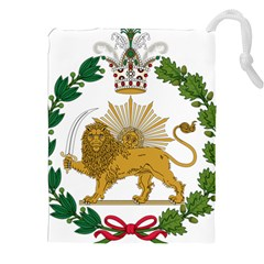 Imperial Coat Of Arms Of Persia (iran), 1907 1925 Drawstring Pouches (xxl) by abbeyz71