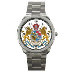 Sovereign Coat Of Arms Of Iran (order Of Pahlavi), 1932 1979 Sport Metal Watch by abbeyz71