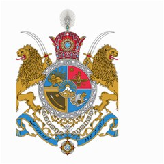 Sovereign Coat Of Arms Of Iran (order Of Pahlavi), 1932 1979 Small Garden Flag (two Sides) by abbeyz71