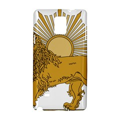 National Emblem Of Iran, Provisional Government Of Iran, 1979 1980 Samsung Galaxy Note 4 Hardshell Case by abbeyz71