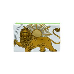 National Emblem Of Iran, Provisional Government Of Iran, 1979 1980 Cosmetic Bag (xs) by abbeyz71