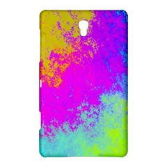 Grunge Radial Gradients Red Yellow Pink Cyan Green Samsung Galaxy Tab S (8 4 ) Hardshell Case  by EDDArt