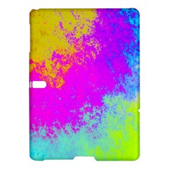 Grunge Radial Gradients Red Yellow Pink Cyan Green Samsung Galaxy Tab S (10 5 ) Hardshell Case  by EDDArt