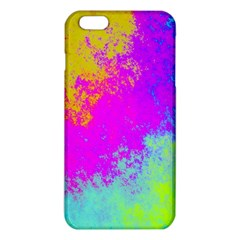 Grunge Radial Gradients Red Yellow Pink Cyan Green Iphone 6 Plus/6s Plus Tpu Case by EDDArt
