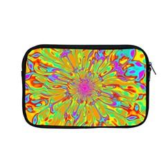 Magic Ripples Flower Power Mandala Neon Colored Apple Macbook Pro 13  Zipper Case by EDDArt