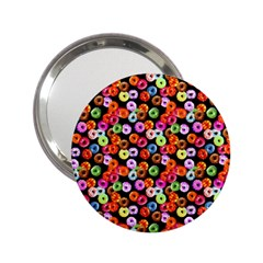 Colorful Yummy Donuts Pattern 2 25  Handbag Mirrors by EDDArt
