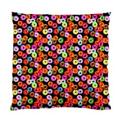 Colorful Yummy Donuts Pattern Standard Cushion Case (one Side) by EDDArt
