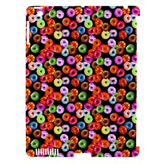 Colorful Yummy Donuts Pattern Apple Ipad 3/4 Hardshell Case (compatible With Smart Cover) by EDDArt