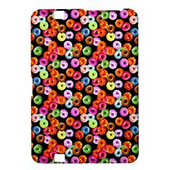 Colorful Yummy Donuts Pattern Kindle Fire Hd 8 9  by EDDArt