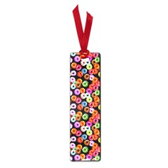 Colorful Yummy Donuts Pattern Small Book Marks by EDDArt