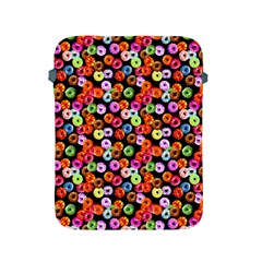 Colorful Yummy Donuts Pattern Apple Ipad 2/3/4 Protective Soft Cases by EDDArt