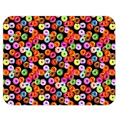 Colorful Yummy Donuts Pattern Double Sided Flano Blanket (medium)  by EDDArt