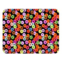 Colorful Yummy Donuts Pattern Double Sided Flano Blanket (large)  by EDDArt