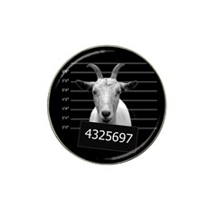 Criminal Goat  Hat Clip Ball Marker (4 Pack) by Valentinaart