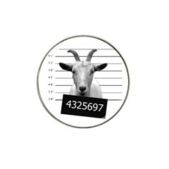 Criminal Goat  Hat Clip Ball Marker (10 Pack) by Valentinaart