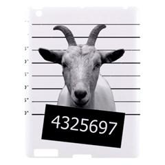 Criminal Goat  Apple Ipad 3/4 Hardshell Case by Valentinaart
