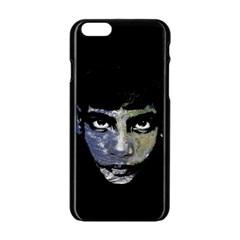 Wild Child  Apple Iphone 6/6s Black Enamel Case by Valentinaart
