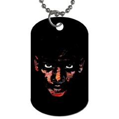 Wild Child  Dog Tag (two Sides) by Valentinaart