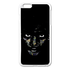 Wild Child  Apple Iphone 6 Plus/6s Plus Enamel White Case by Valentinaart