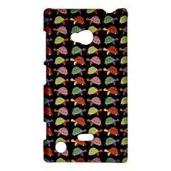 Turtle Pattern Nokia Lumia 720 by Valentinaart
