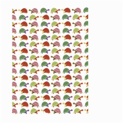 Turtle Pattern Large Garden Flag (two Sides) by Valentinaart