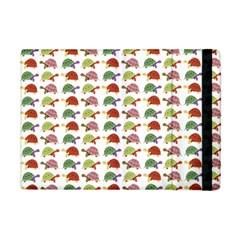 Turtle Pattern Apple Ipad Mini Flip Case by Valentinaart