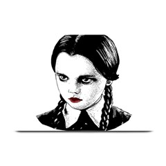 Wednesday Addams Plate Mats by Valentinaart