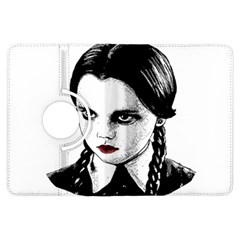Wednesday Addams Kindle Fire Hdx Flip 360 Case by Valentinaart