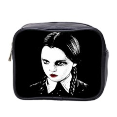 Wednesday Addams Mini Toiletries Bag 2 Side by Valentinaart