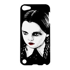 Wednesday Addams Apple Ipod Touch 5 Hardshell Case by Valentinaart