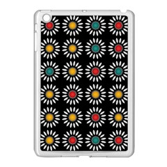 White Daisies Pattern Apple Ipad Mini Case (white) by linceazul