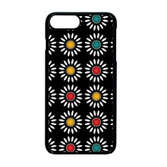 White Daisies Pattern Apple Iphone 7 Plus Seamless Case (black) by linceazul