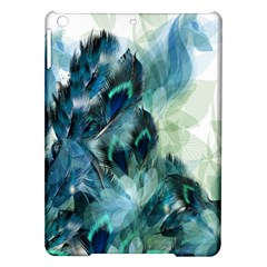 Flowers And Feathers Background Design Ipad Air Hardshell Cases by TastefulDesigns