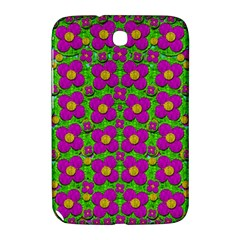 Bohemian Big Flower Of The Power In Rainbows Samsung Galaxy Note 8 0 N5100 Hardshell Case  by pepitasart