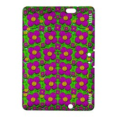 Bohemian Big Flower Of The Power In Rainbows Kindle Fire Hdx 8 9  Hardshell Case by pepitasart
