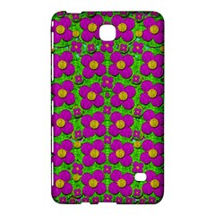 Bohemian Big Flower Of The Power In Rainbows Samsung Galaxy Tab 4 (8 ) Hardshell Case  by pepitasart