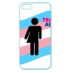 Transgender  Apple Seamless Iphone 5 Case (color) by Valentinaart